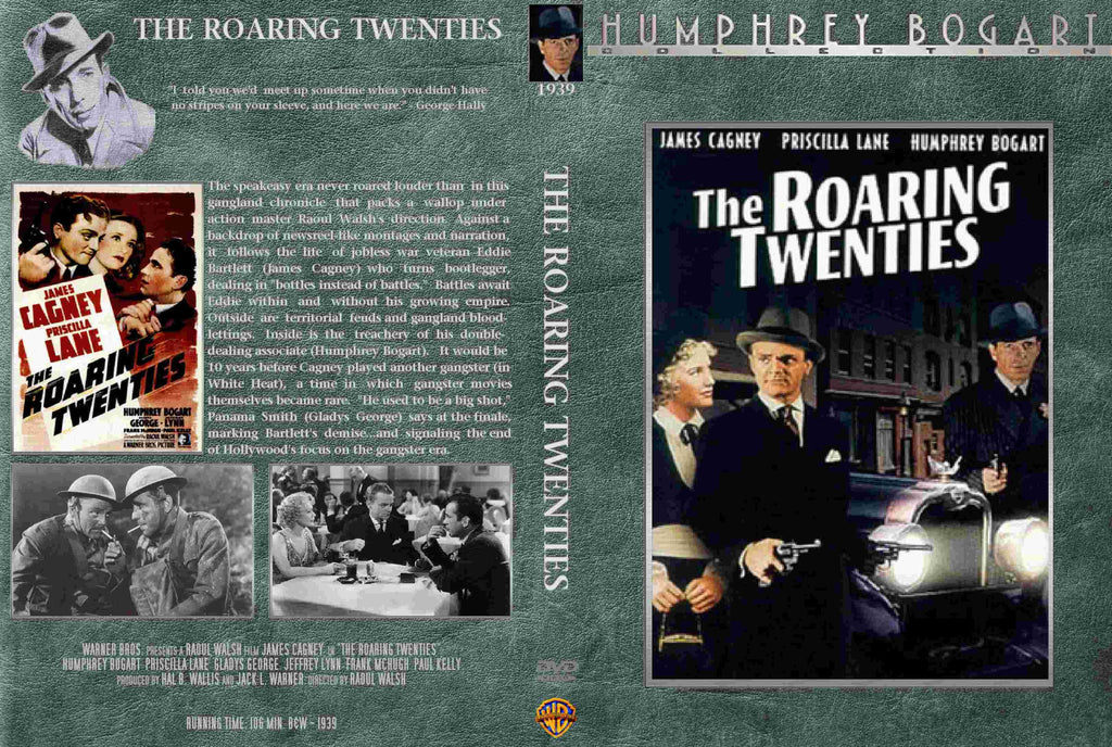 Roaring Twenties (1939) - Color Version DVD