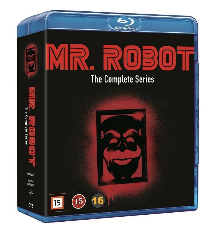 Mr. Robot : The Complete Series - Christian Slater  (12 Blu-ray Set)