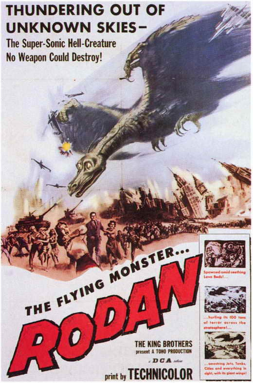 Rodan - The Flying Monster (1956)  DVD