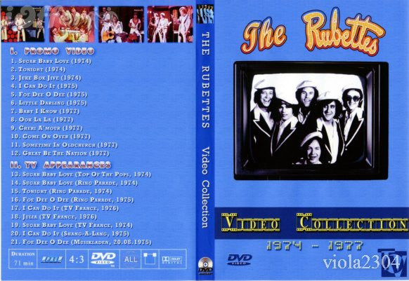 The Rubettes : Video Collection DVD