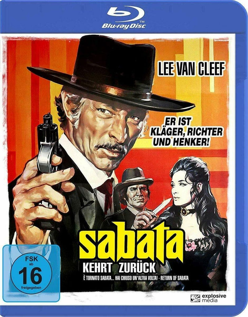 Return Of Sabata (1971) - Lee Van Cleef  Blu-ray