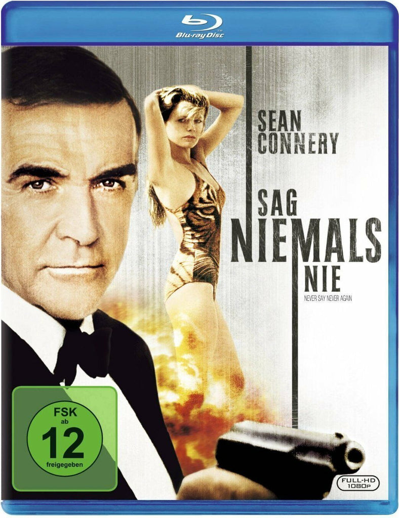 James Bond 007 : Never Say Never Again (1983) - Sean Connery  Blu-ray