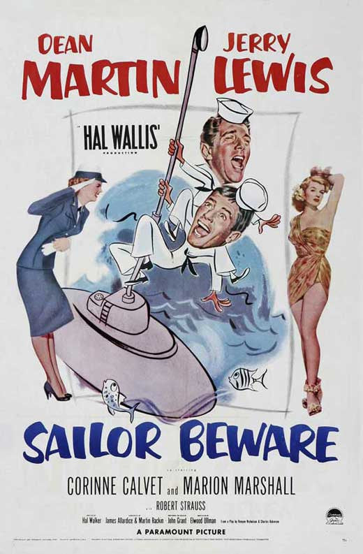 Sailor Beware (1952)  DVD