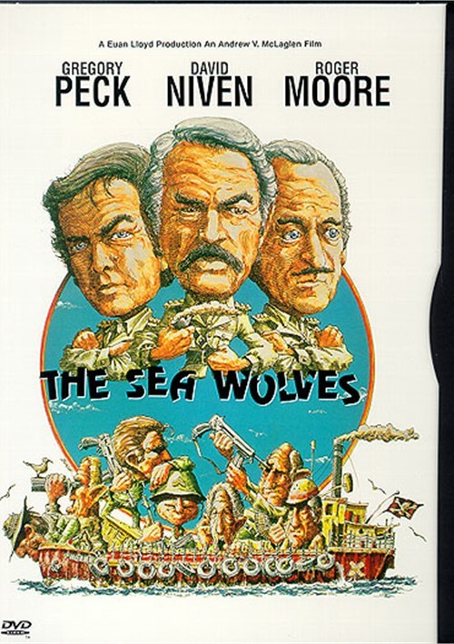 The Sea Wolves (1980) - Gregory Peck  DVD