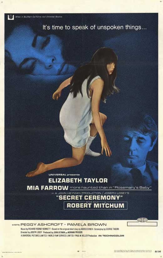 Secret Ceremony (1968) - Robert Mitchum  DVD