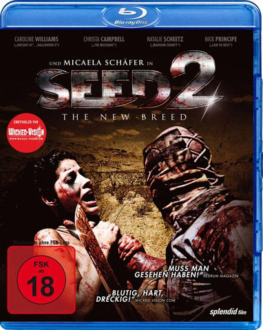 Seed 2 - The New Breed (2014) - Marcel Walz  Blu-ray