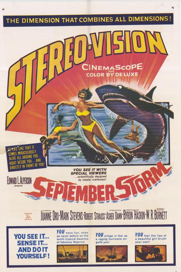 September Storm (1960) - Robert Strauss  DVD