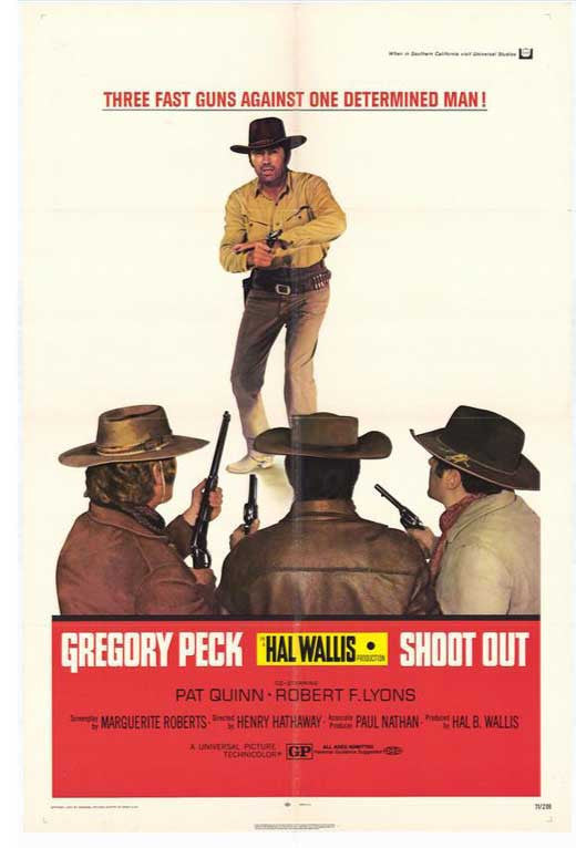 Shoot Out (1971) - Gregory Peck  DVD