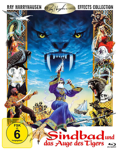Sinbad And The Eye Of The Tiger (1977) - Patrick Wayne  Blu-ray
