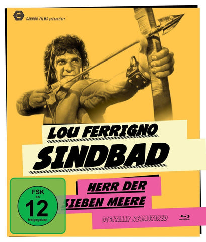 Sinbad Of The Seven Seas (1989) - Lou Ferrigno  Blu-ray