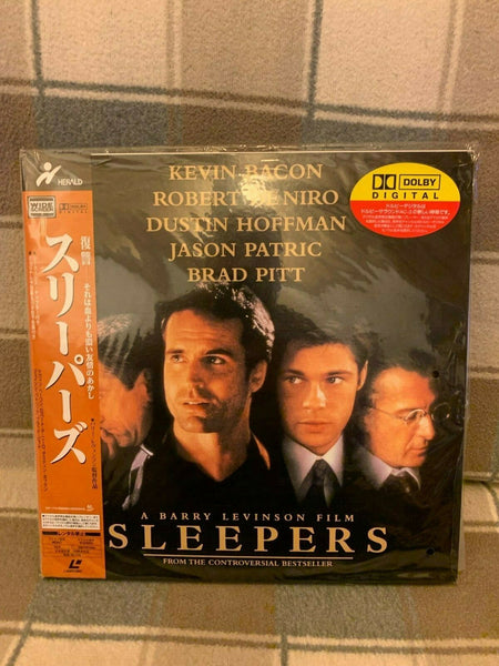 Sleepers (1996) - Robert De Niro  Japan 2 LD Laserdisc Set with OBI