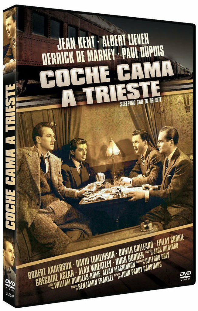 Sleeping Car To Trieste (1948) - Jean Kent  DVD RC2