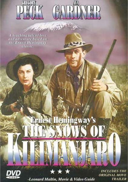 The Snows Of Kilimanjaro (1952) - Gregory Peck  DVD