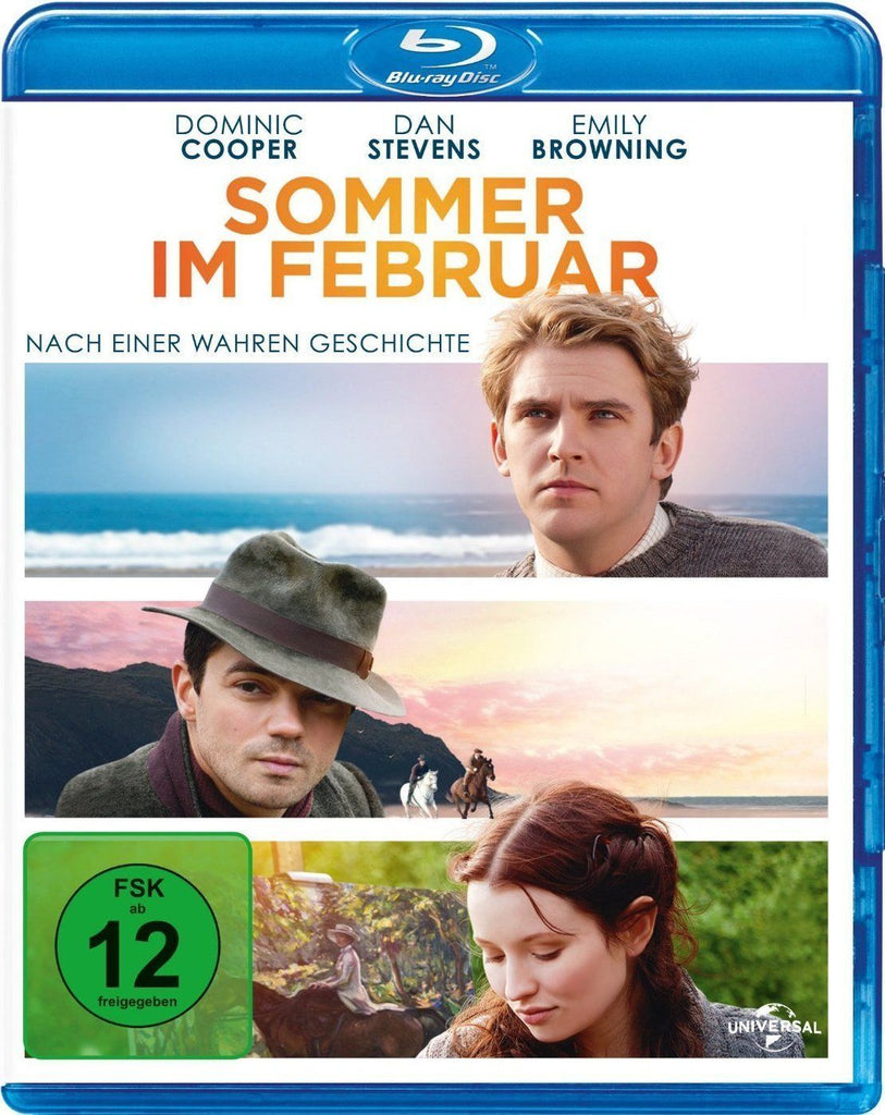 Summer In February (2013) - Dominic Cooper  Blu-ray
