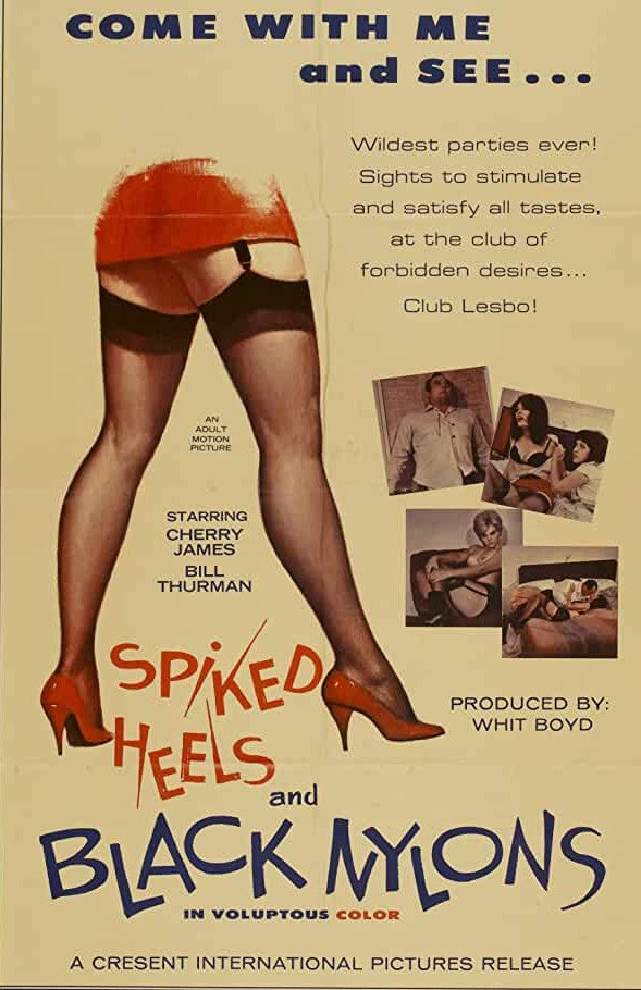 Spiked Heels and Black Nylons (1967) - Cherry James  DVD