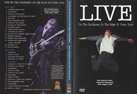 Bruce Springsteen - Live In Maryland 1978 (2 DVD Set)