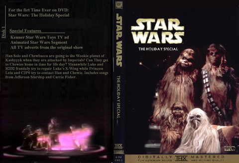 Star Wars Holiday Special (1978)  - 2 Versions  DVD