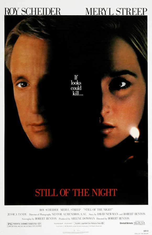 Still Of The Night (1982) - Roy Scheider  DVD