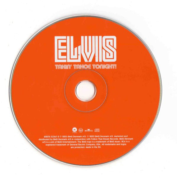 Elvis Presley - Takin´ Tahoe Tonight  FTD CD
