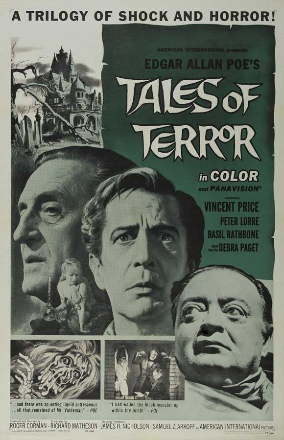 Tales Of Terror (1962) - Vincent Price  DVD