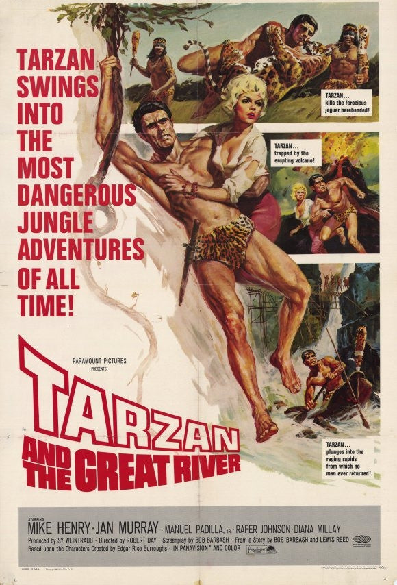Tarzan am grossen Fluss (1967) - Mike Henry  DVD