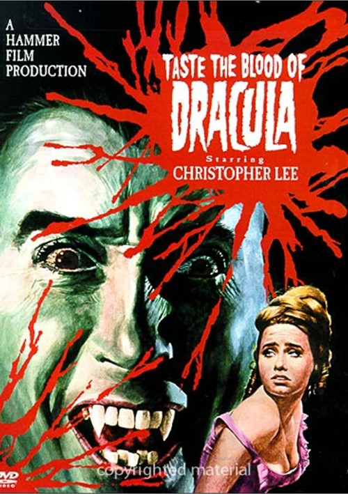 Taste The Blood Of Dracula (1969) - Christopher Lee DVD