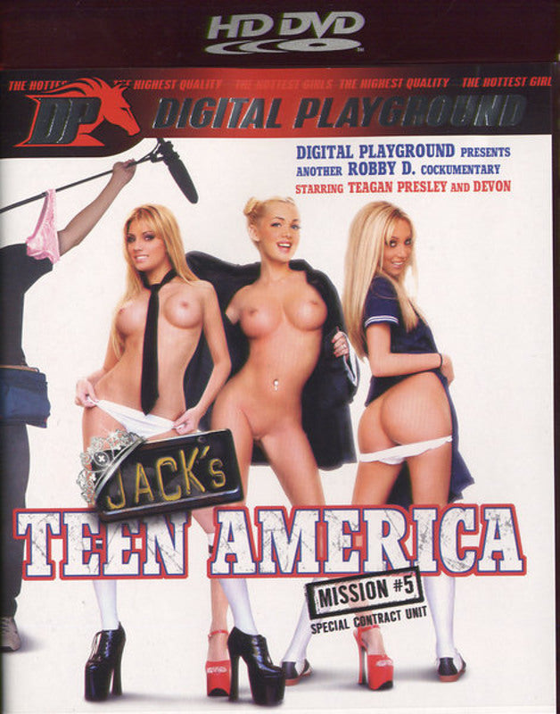 Jack´s Teen America : Mission 5 - Digital Playground  HD DVD