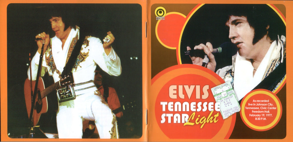 Tennessee Starlight - Live In Johnson City,TN 1977  CD
