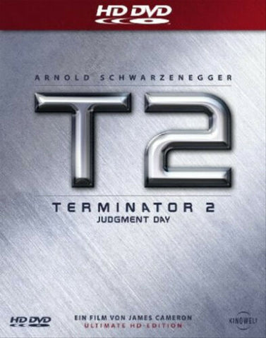 Terminator 2 : Judgement Day (1991) - Arnold Schwarzenegger  HD DVD Steelbook Edition