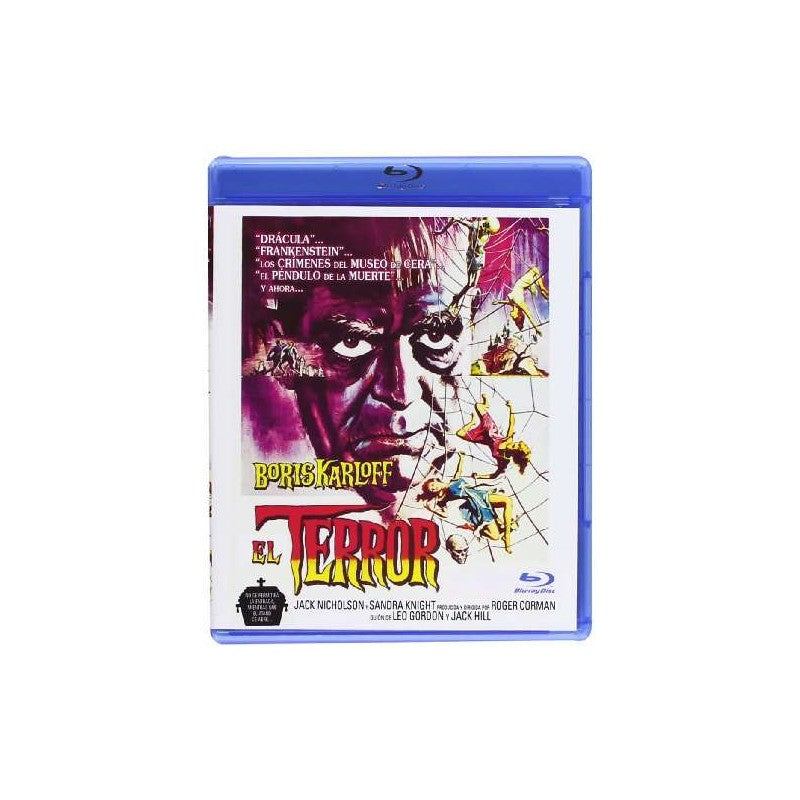 The Terror (1963) - Boris Karloff  REMASTERED Blu-ray