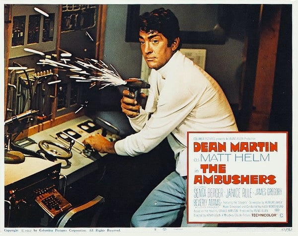 Matt Helm : The Ambushers (1967) - Dean Martin