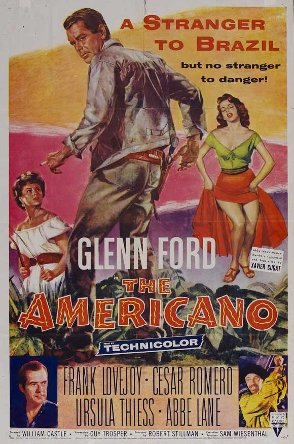 The Americano (1955) - Glenn Ford  DVD