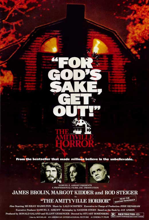 The Amityville Horror (1979) - James Brolin  DVD