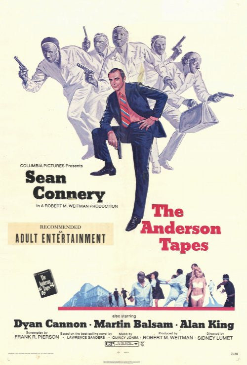 The Anderson Tapes (1971) - Sean Connery  DVD