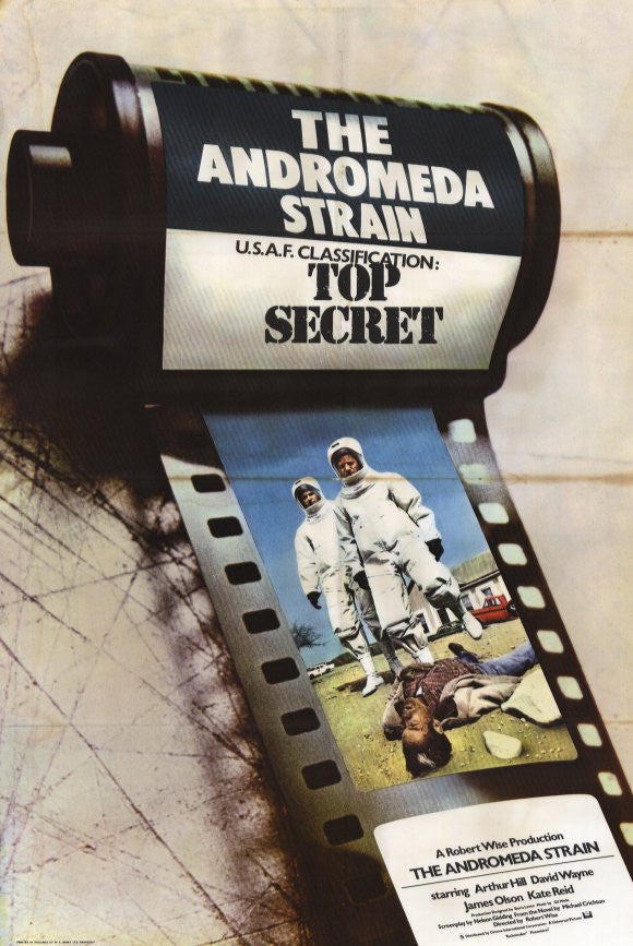 The Andromeda Strain (1971) - Arthur Hill  DVD