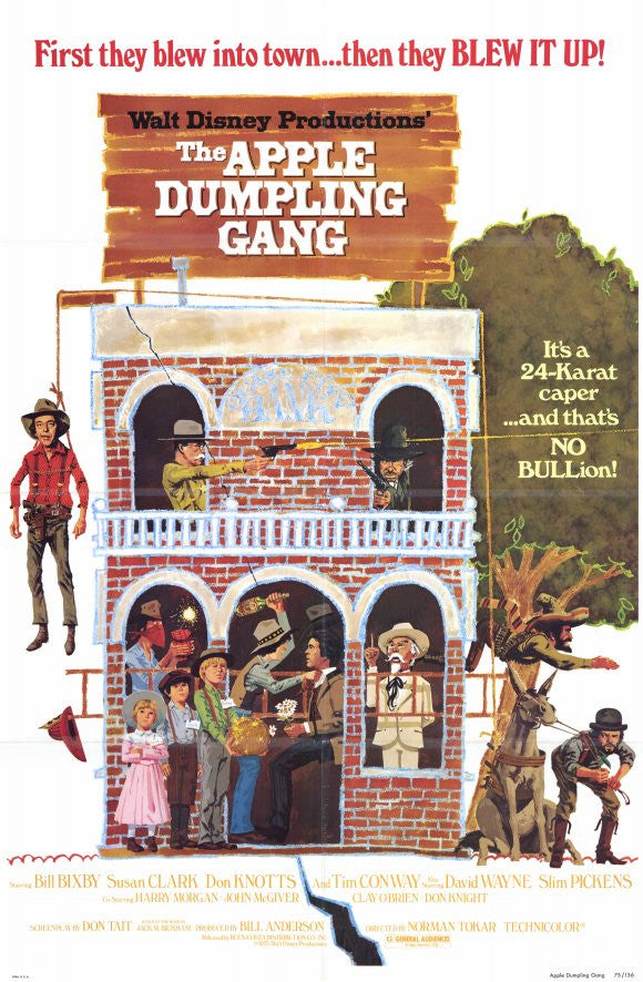 The Apple Dumpling Gang (1975) - Bill Bixby  DVD