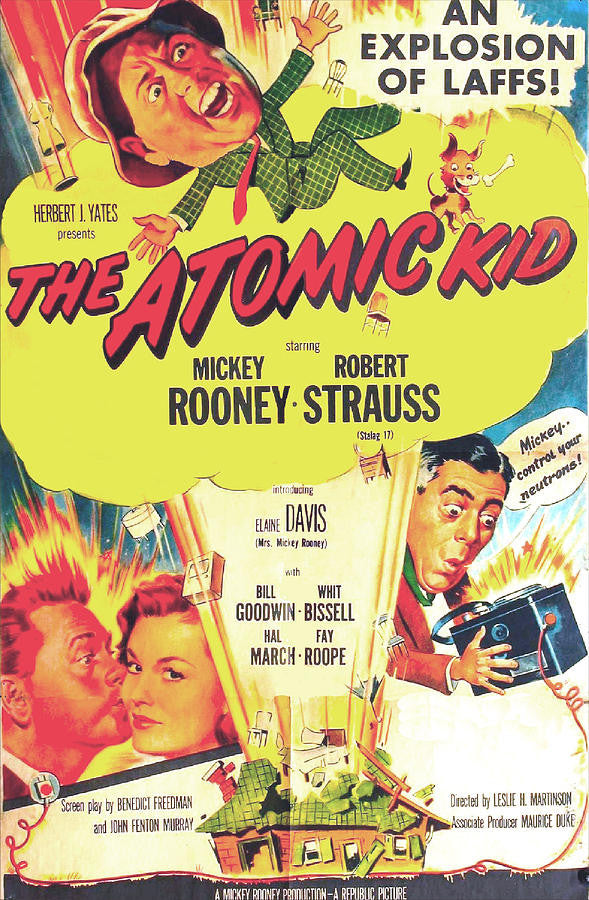 The Atomic Kid (1954) - Mickey Rooney DVD – Elvis DVD Collector ...