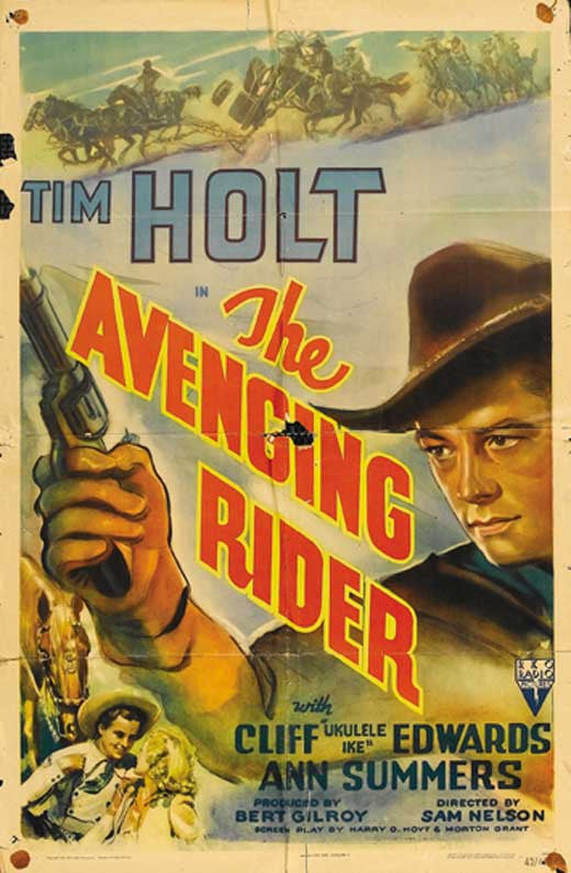 The Avenging Rider (1943) - Tim Holt  DVD