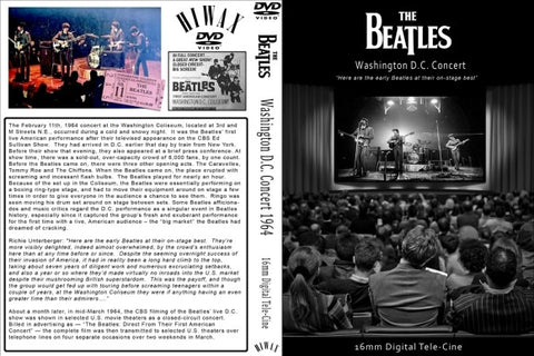 The Beatles : Live At Washington Coliseum 1964  DVD