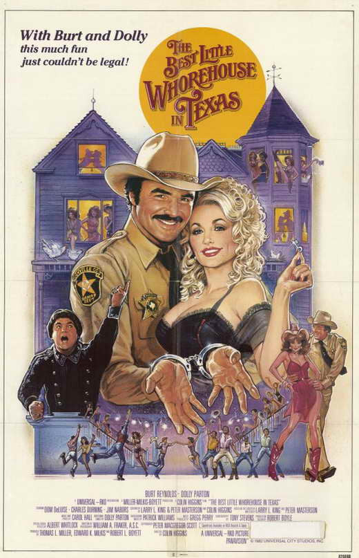 The Best Little Whorehouse In Texas (1982) - Burt Reynolds  DVD