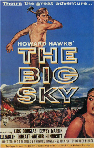 The Big Sky (1952) - Kirk Douglas  Colorized  DVD