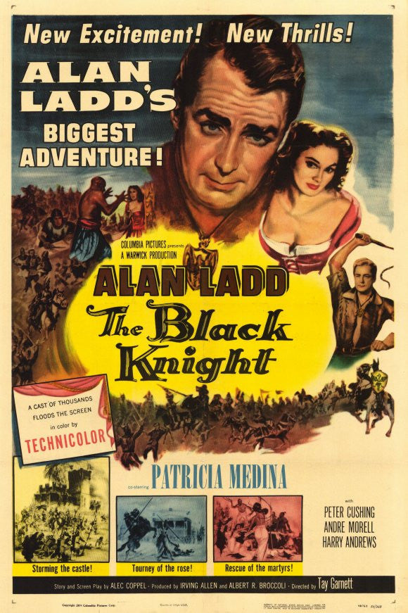 The Black Knight (1954) - Alan Ladd  DVD