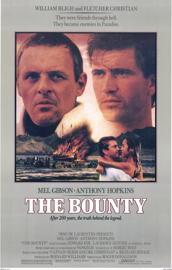 The Bounty (1984) - Mel Gibson  DVD