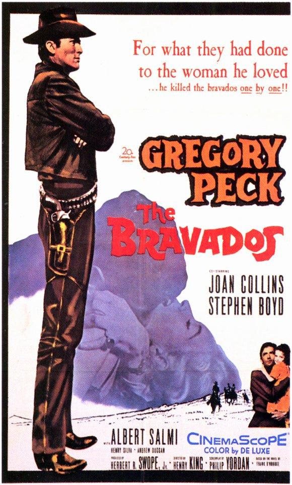 The Bravados (1958) - Gregory Peck  DVD