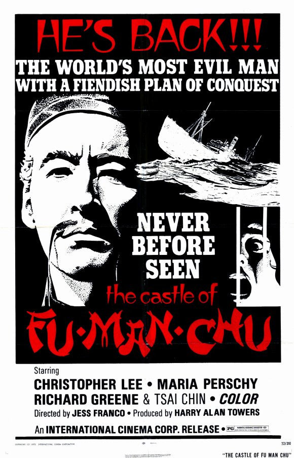 Fu Man Chu : The Castle Of Fu Man Chu (1969) - Christopher Lee  DVD