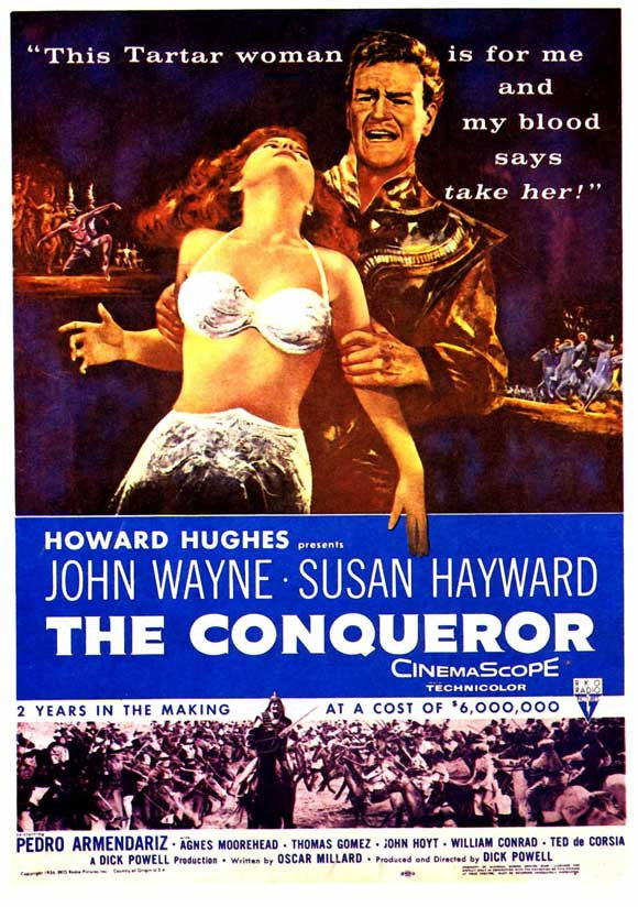 The Conqueror (1956) - John Wayne  DVD