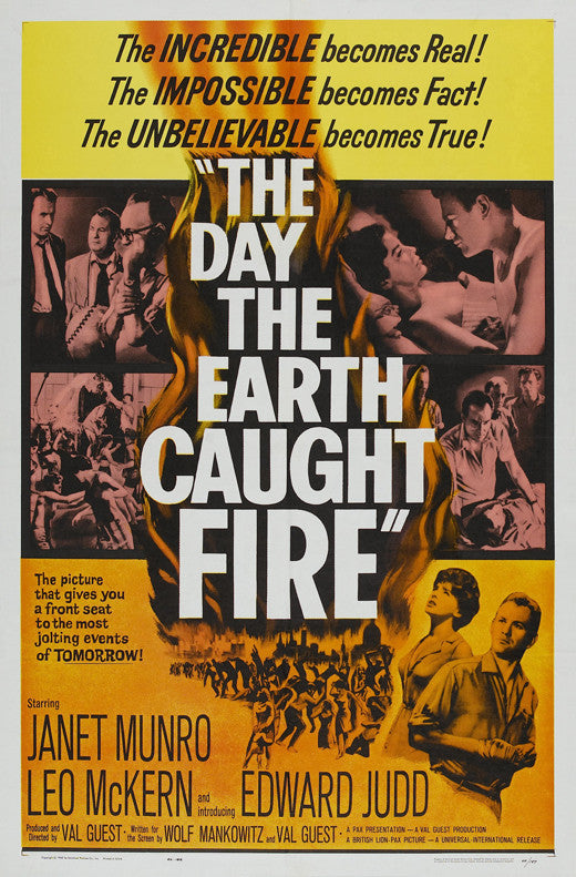 The Day The Earth Caught Fire (1961) - Janet Munro  DVD
