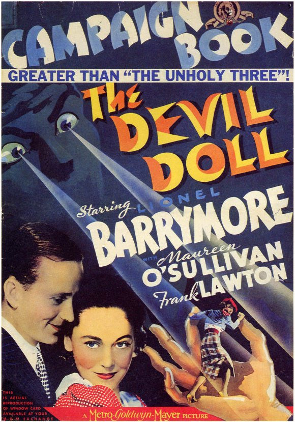 The Devil Doll (1936) - Lionel Barrymore  DVD