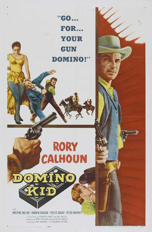 Domino Kid (1957) - Rory Calhoun  DVD