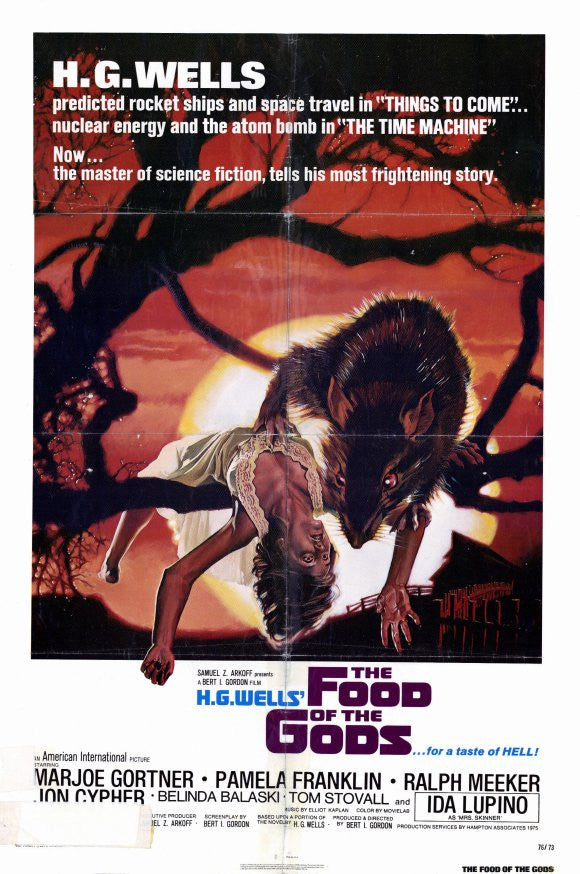 Food Of The Gods (1976)  DVD
